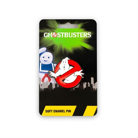 """OFFICIAL Ghostbusters No Ghosts Logo Pin 
