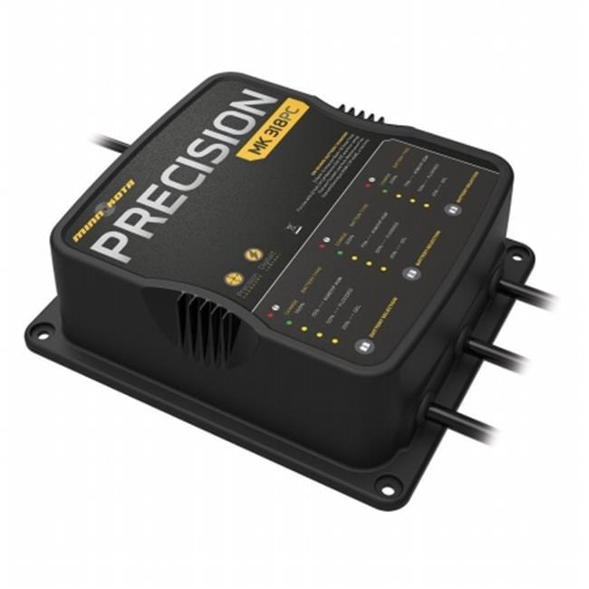 Minn Kota 1833180 Mk 318 Precision Digital Charger 3 Bank...