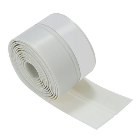 3.3ft 1m Seal Strip Silicone Rubber Sealing Sticker Self-adhesive Seal Strip for Door Window Door Noise Stopper and Soundproofing Door Weather (Rubber Sealing Strip)