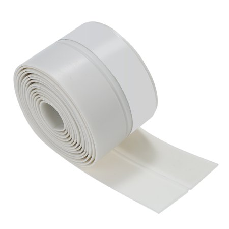 3.3ft 1m Seal Strip Silicone Rubber Sealing Sticker Self-adhesive Seal Strip for Door Window Door Noise Stopper and Soundproofing Door Weather Stripping