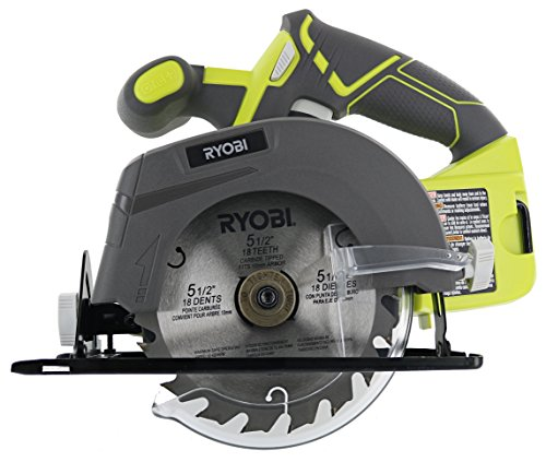 "Ryobi P505 5-1 2"" 18 Volt Circular Saw by"