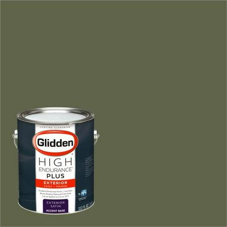 Glidden High Endurance Plus Exterior Paint Olive Green 90yy 15 147