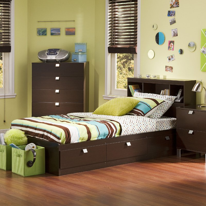 Cakao Bookcase Storage Bed by South Shore by South Shore Industries Ltd