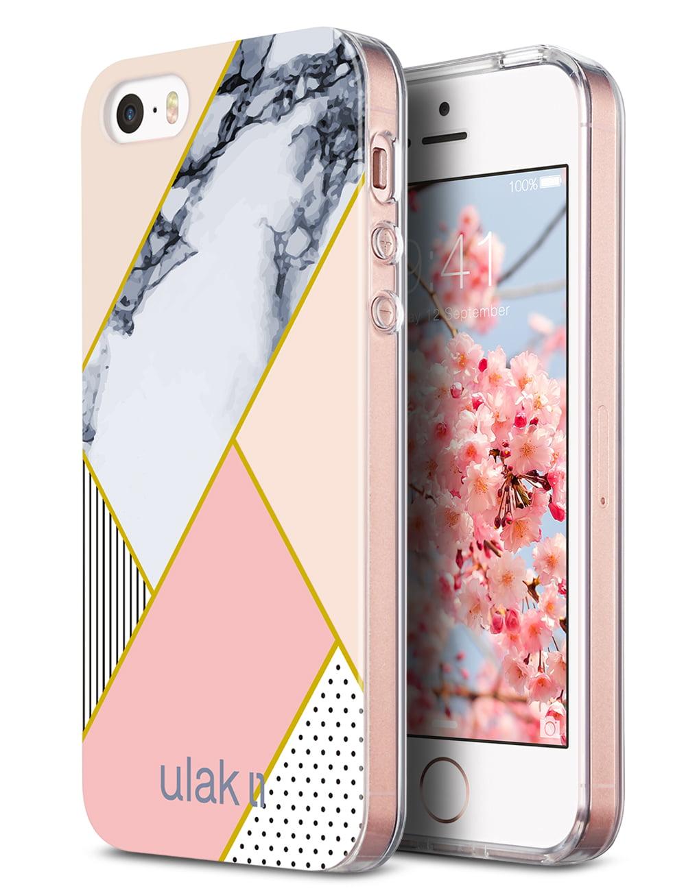 iPhone SE Case, ULAK CLEAR SLIM Hybrid Case For Apple