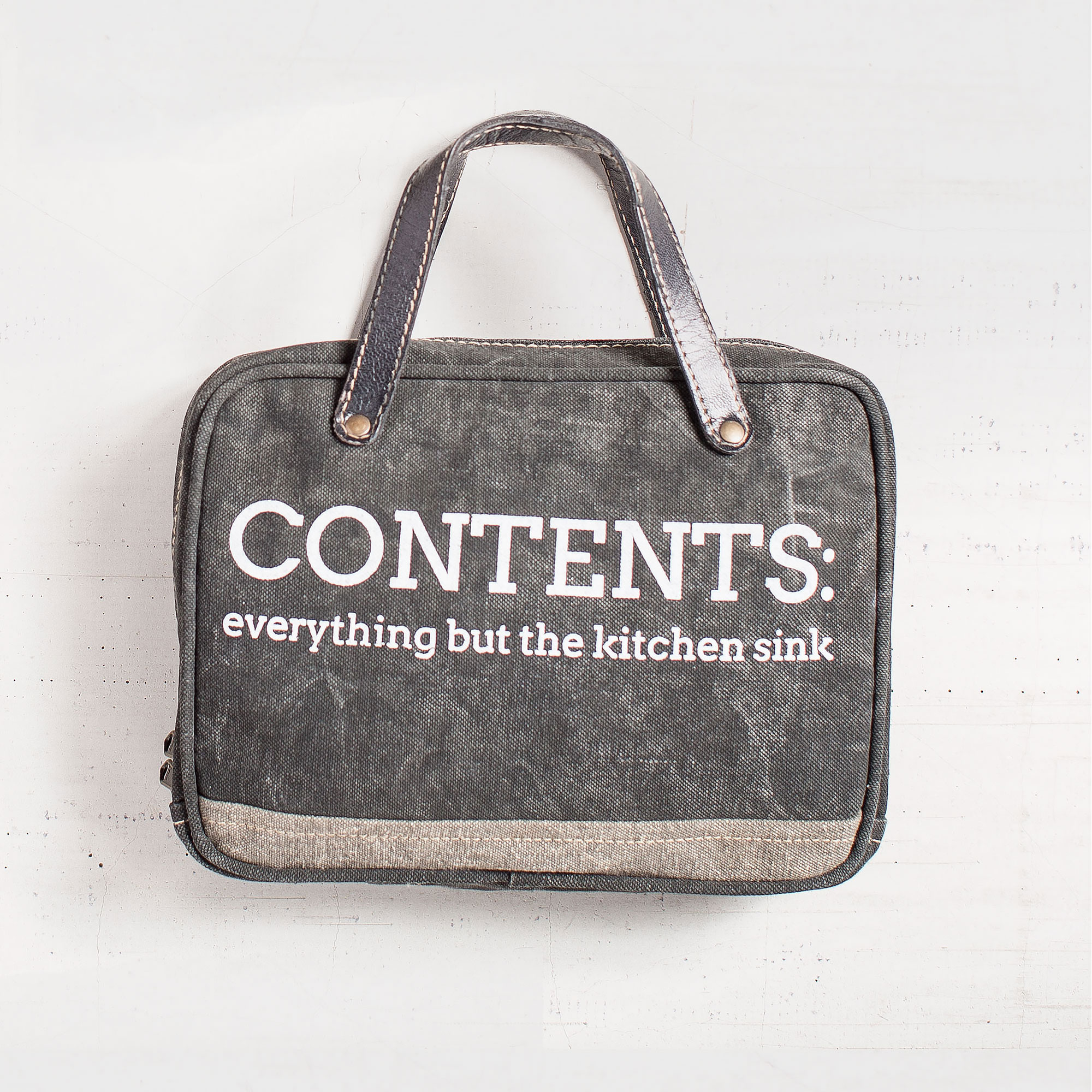 Kitchen Sink Cosmetic Bag