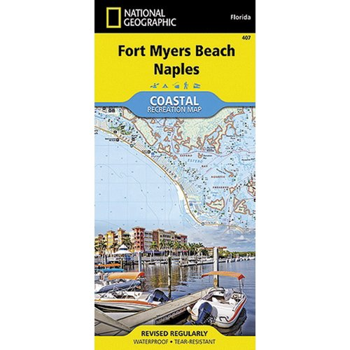 Universal Map Fort Myers Beach Coastal Recreational Map