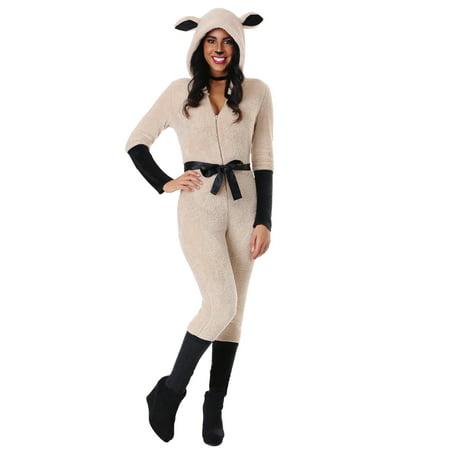 Adult Female Sheep Costume - Sheep Adult Costume