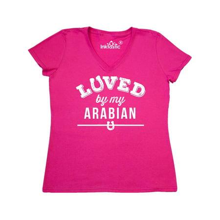 Arabian Horse Lover Gift Women's V-Neck T-Shirt](Beautiful Arabian Womens)