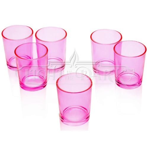 Light In the Dark Glass Votive Set (Set of 36)