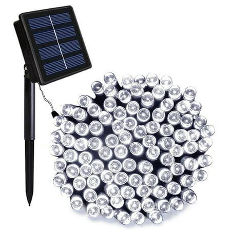 Ora LED Solar Powered Waterproof String Lights, 200 LEDs 112 feet ()