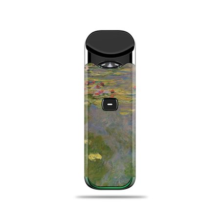 Skin For SMOK Nord - Water Lilies | MightySkins Protective, Durable, and Unique Vinyl Decal wrap cover | Easy To Apply, Remove, and Change Styles