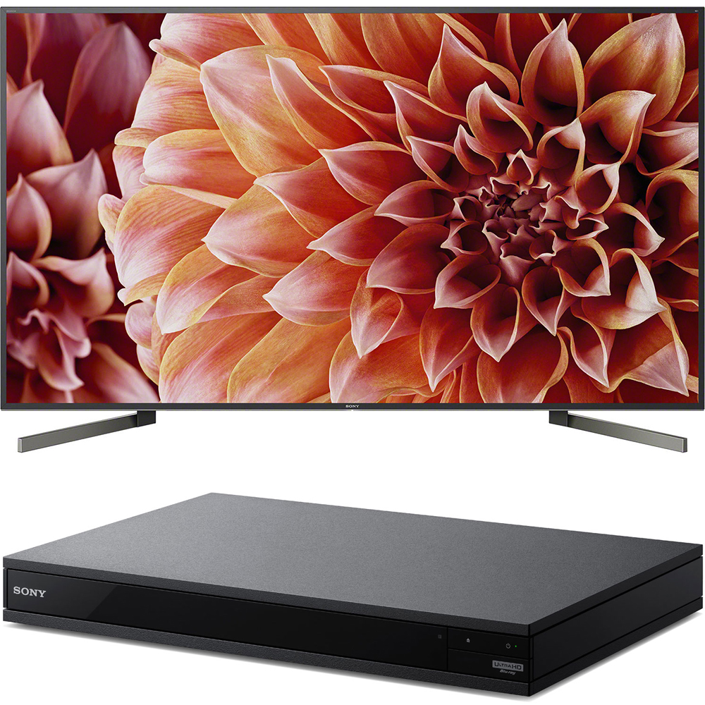 "Sony 85"" Class 4K Ultra HD (2160P) HDR Android Smart LED TV (XBR85X900F) with Sony 4K Ultra HD Smart Blu-Ray Player"