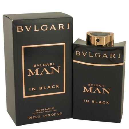Bvlgari Bvlgari Man In Black Eau De Parfum Spray for Men 3.4 oz Bvlgari 3.4 Oz Eau De Toilette Spray