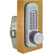 Lockey 160-P-BB Mechanical Keyless Heavy Duty Knob Panic Trim - Bright Brass