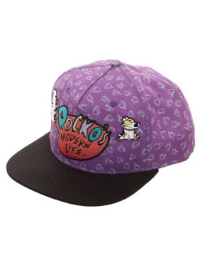 a7f764d8d594d0 Product Image Rocko's Modern Life Sublimated Snapback Cap with Lapel Pins