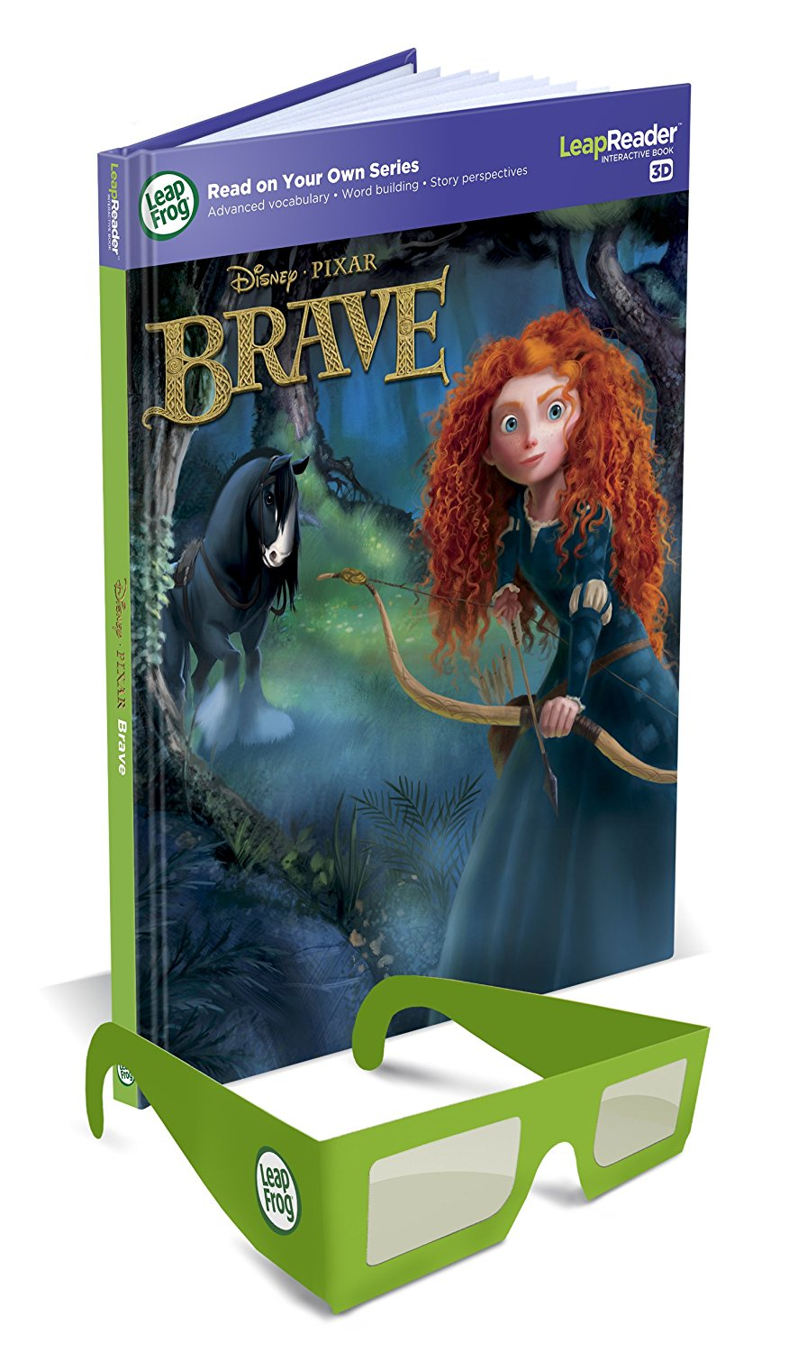 LeapReader Disney Pixar Brave 3D Book (Works with Tag), Travel to the rugged and... by