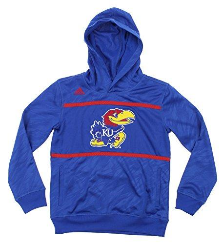 NCAA Youth Kansas Jayhawks Amped Player Performance Pullover Hoodie
