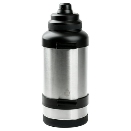TAL 3 Liter Zeus Double Wall Insulated Water Bottle, Stainless Steel