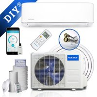 Mrcool Do It Yourself 12,000 BTU 1 Ton 17.5 SEER Ductless Mini-Split Air Conditioner and Heat Pump - 115V/60Hz