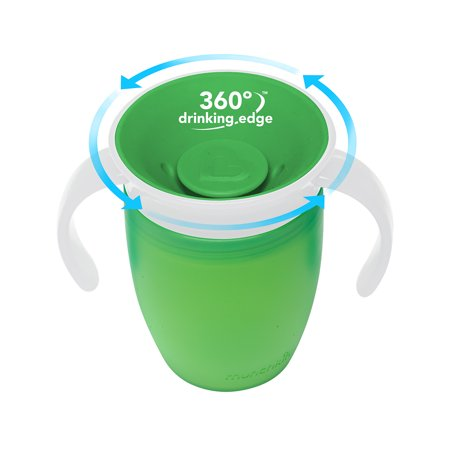 Munchkin Miracle 360° Trainer Cup - 7 Ounce - Green - image 1 of 4