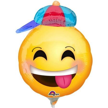 Party Hat Emoji (Loftus International A3-3653 Happy Emoji with Hat Mini Shape Party)