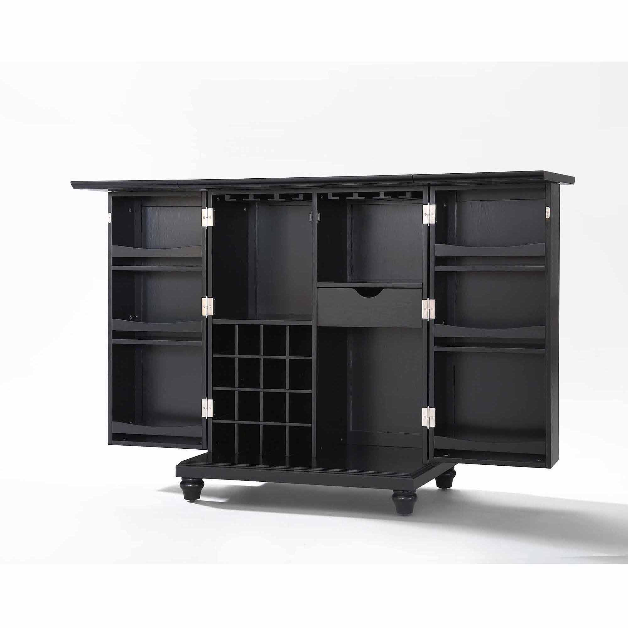 Crosley Furniture Cambridge Expandable Bar Cabinet   Walmart.com