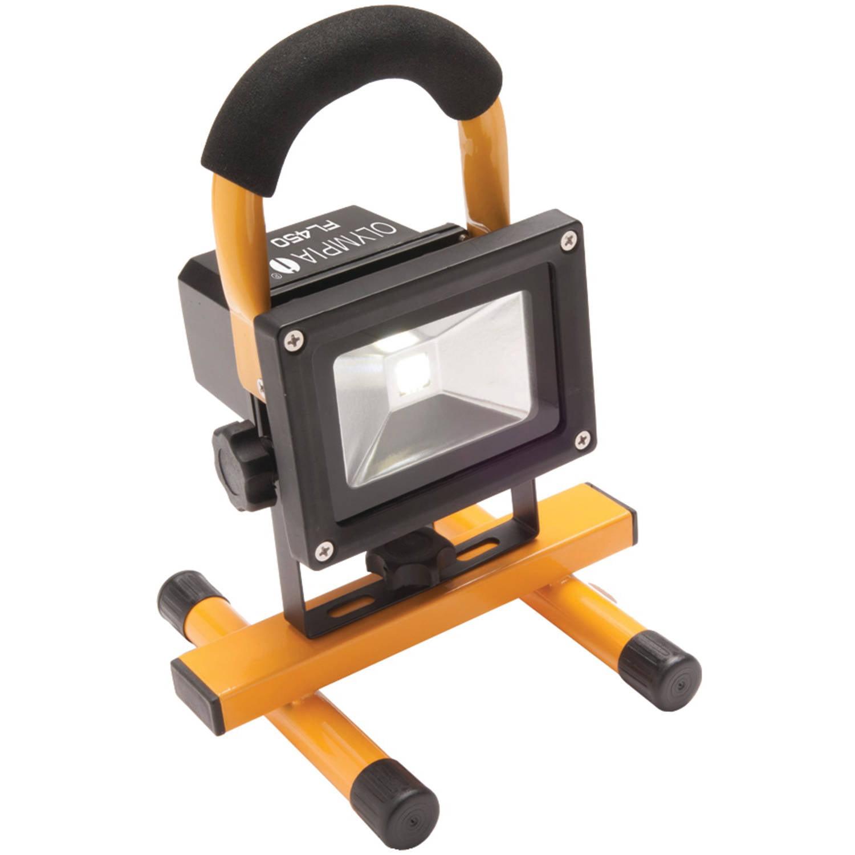 Olympia Fl450 450-Lumen Rechargeable Cordless LED Floodlight