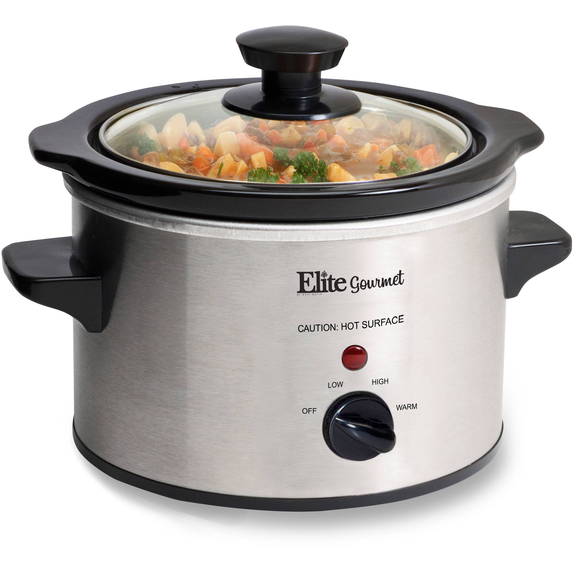 Elite Gourmet 1.5-qt Slow Cooker