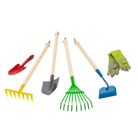 Junior garden tool set 6pcs for Gardening tools walmart