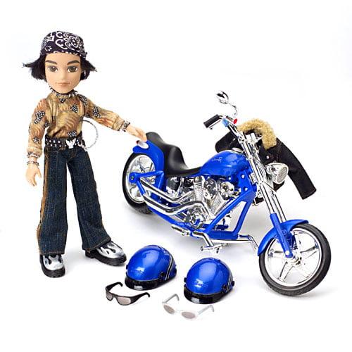 MGA Entertainment Bratz Motorcycle with Boyz Cade Doll