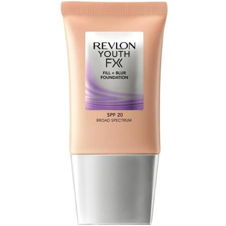 3 Pack - Revlon Youth Fx Fill + Blur Foundation, [220] Natural Beige 1 - 220 Natural