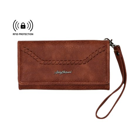 RFID Blocking Multi-Card Clutch Morgan Wallet by Lady Conceal (Concealed Wallet)