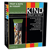 KIND Bars, Fruit & Nuts in Yogurt, 12 Bars, Gluten Free