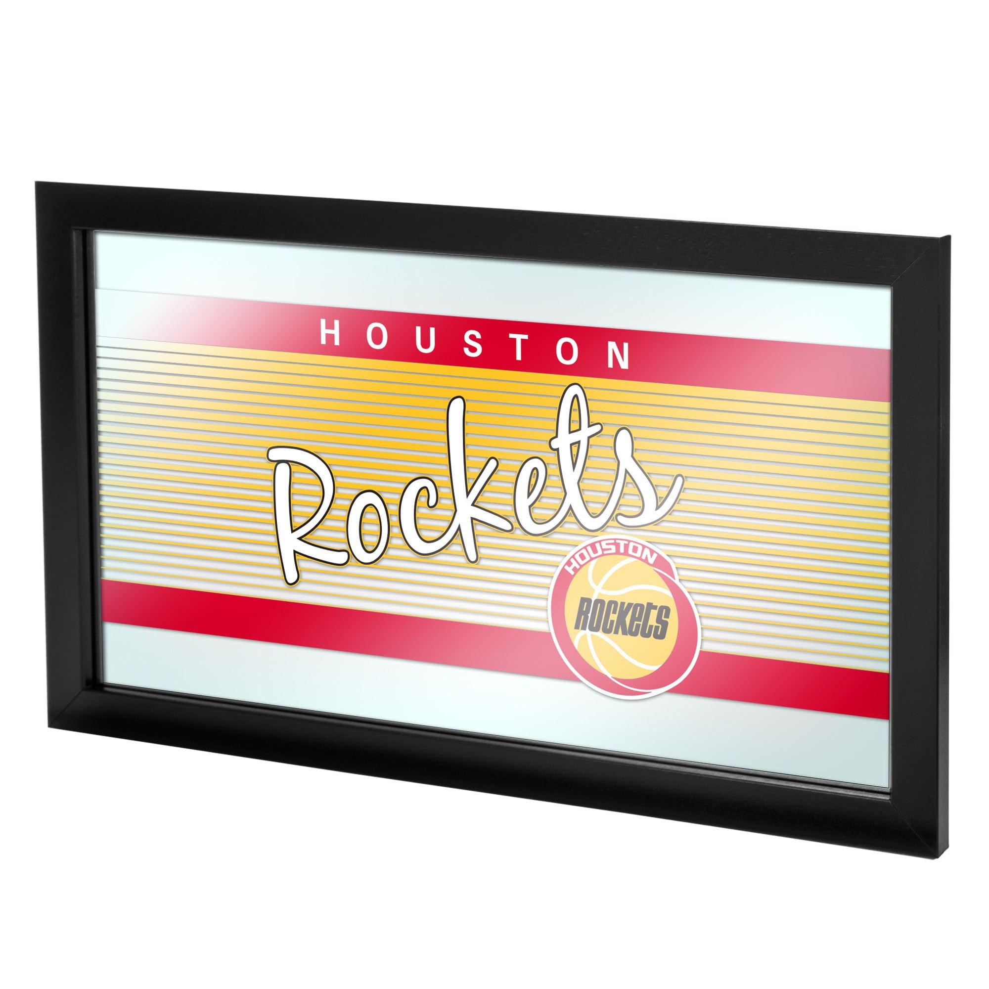 Houston Rockets Hardwood Classics NBA Framed Logo Mirror