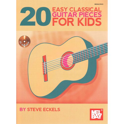 20 Easy Classical Guitar Pieces for Kids by