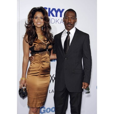Good Design 2007 - Tracey Edmonds Eddie Murphy At Arrivals For Good Luck Chuck Premiere Gibson Amphitheatre At Universal Studios Los Angeles Ca September 19 2007 Photo By Michael GermanaEverett Collection