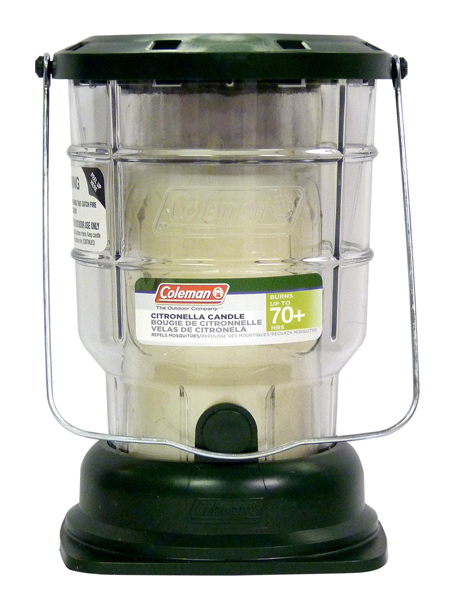 Coleman Citronella Candle Outdoor Lantern 70+ Hours, 6.7 Ounce by Wisconsin Pharmacal Company