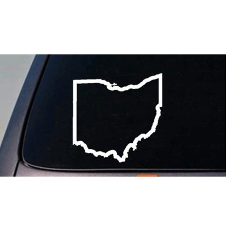"OHIO state 6"" sticker decal car truck window college football basketball *C567*"