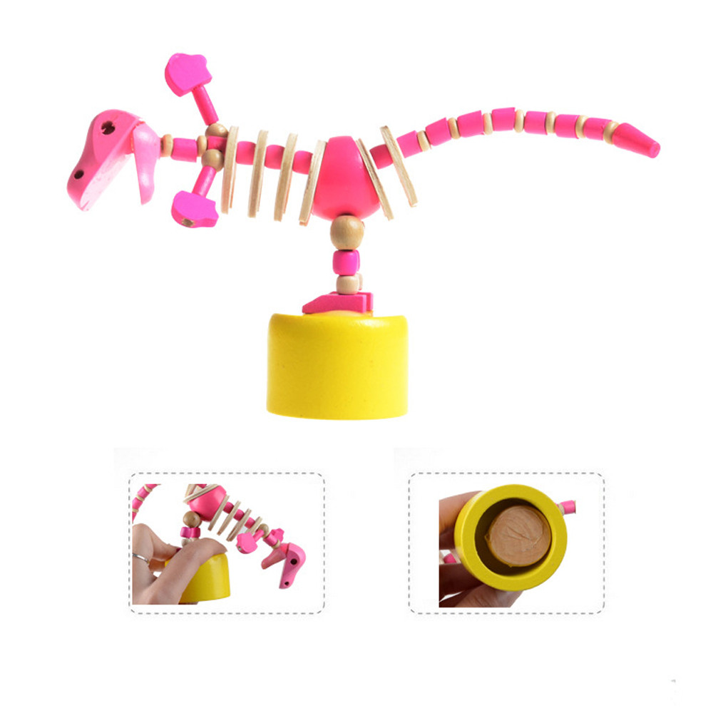 Mosunx Colorful Cartoon Animal Model Toys Kids Educational Toys Dinosaur Model