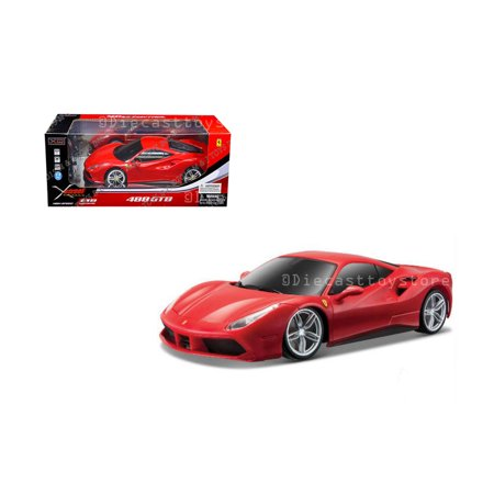 XQ 1:12 XSTREET RADIO CONTROL - FERRARI 488 GTB (READY-TO-RUN) (Usa Ferrari)