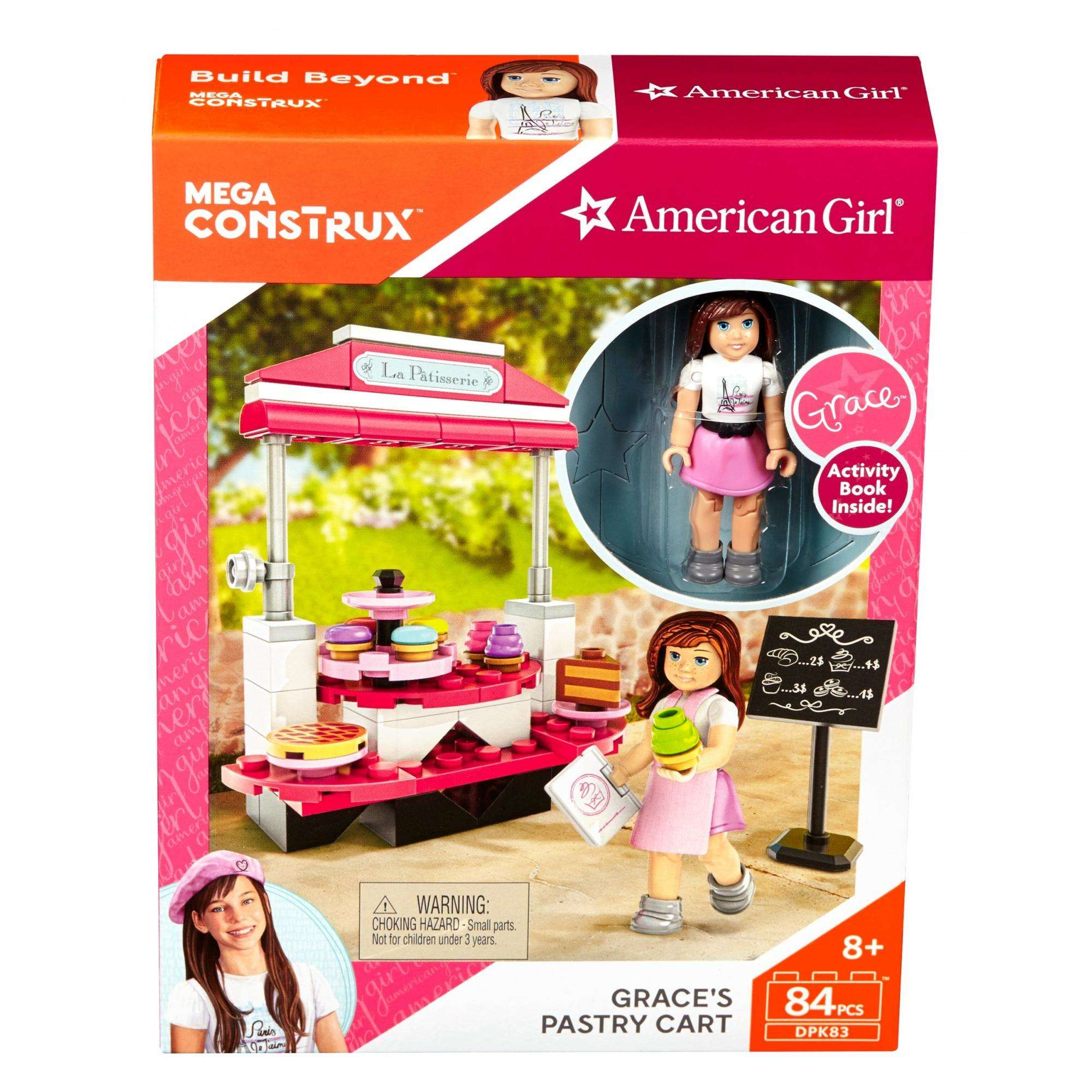 Mega Construx American Girl Grace's Pastry Cart by Mega Bloks