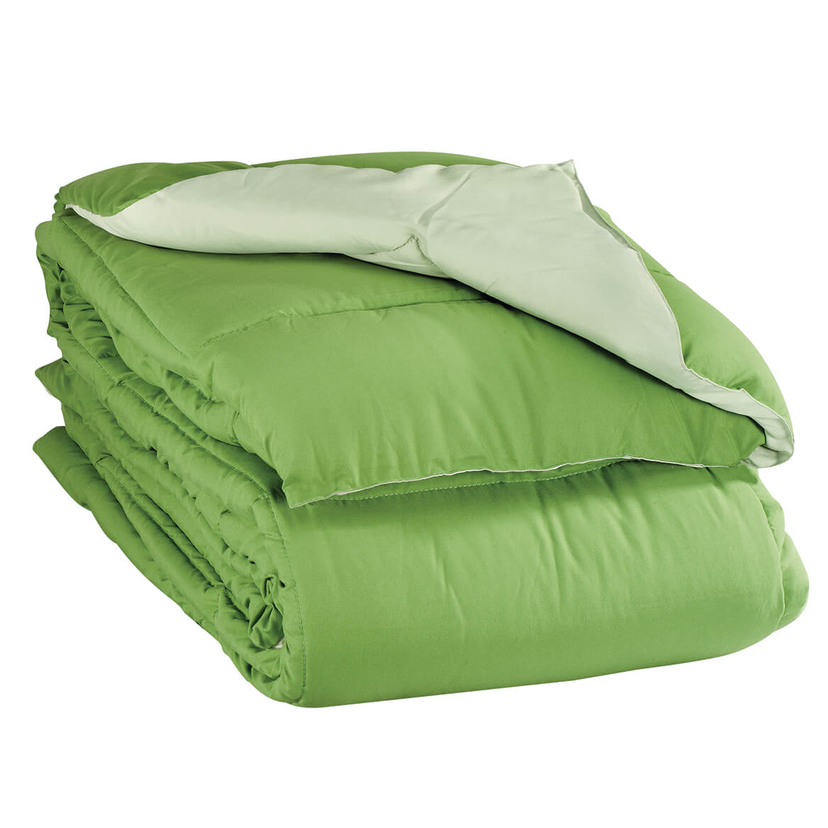 Microfiber Reversible Down Alternative Comforter