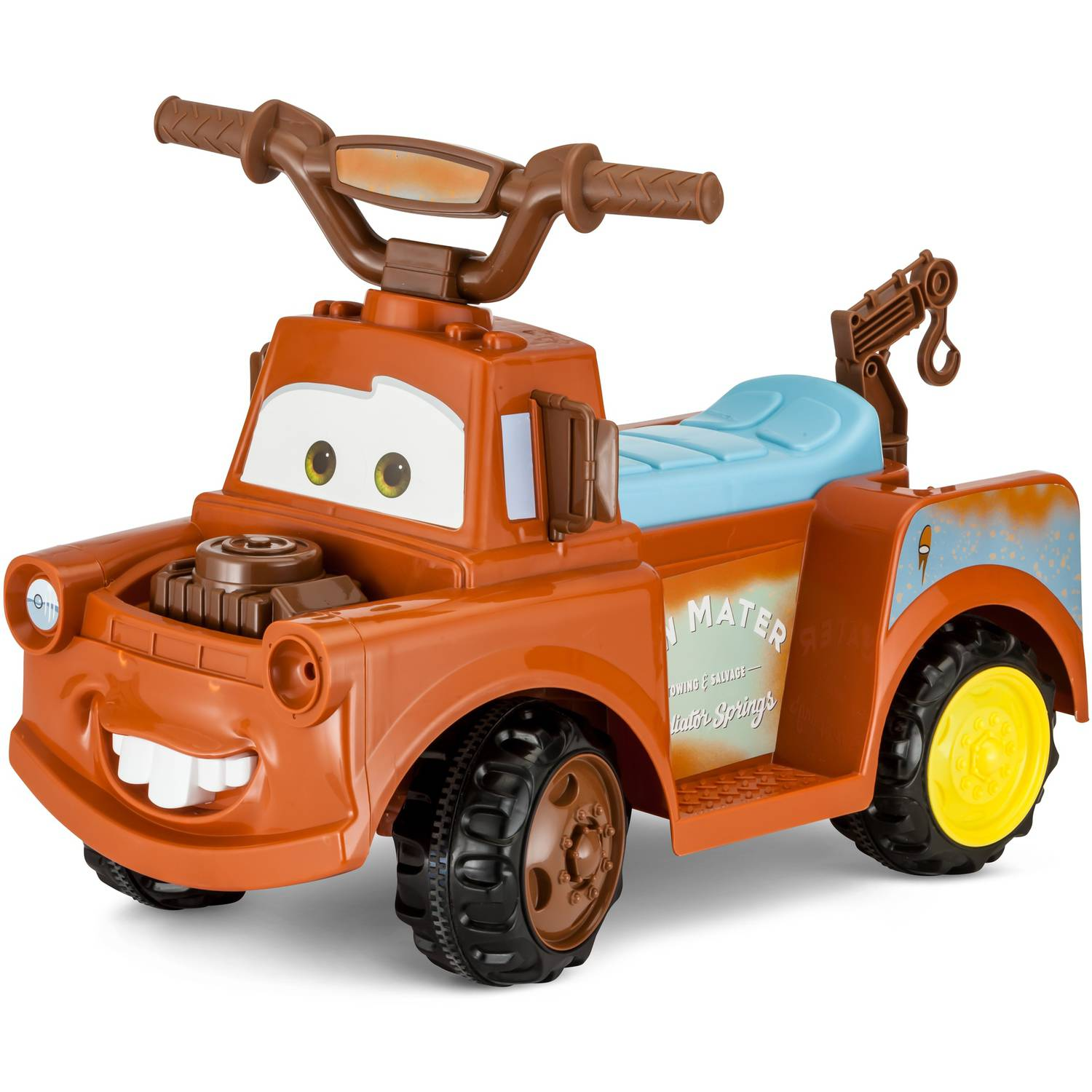Disney Mater 6V Battery Powered Ride Quad Walmart