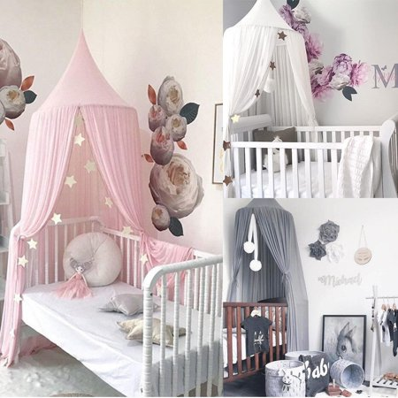 Baby Kids Princess Bed Canopy Bedcover Mosquito Net Curtain Bedding Dome Tent](Bed Canopy Tent)