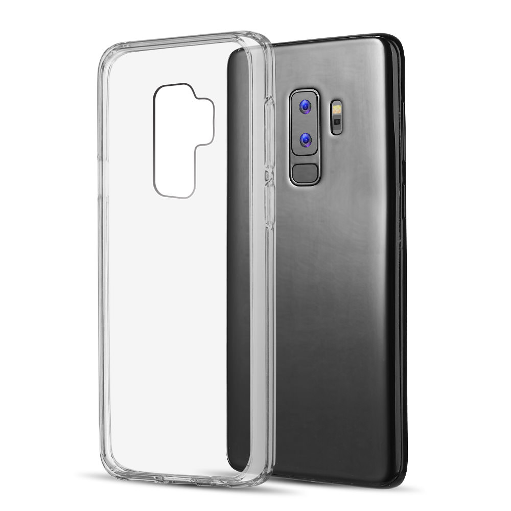 MUNDAZE Clear Candy Acrylic Clear Case For Samsung Galaxy S9 Phone