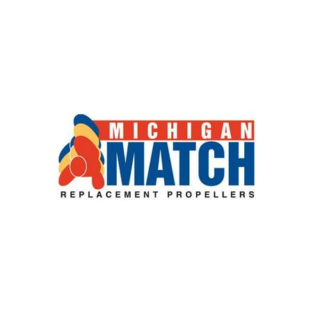 (Michigan Wheel 101025 prop 15.25x15 al 3bl match)