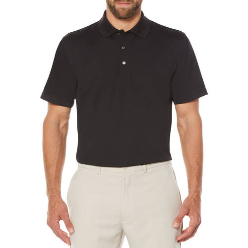 Ben Hogan Performance Men's Short Sleeve Ventilated Solid Golf Polo Shirt