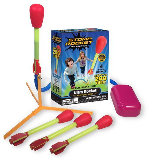 Stomp Rocket® Ultra, 4 Rockets