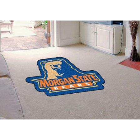 Fanmats Morgan State University Bears Mascot Mat