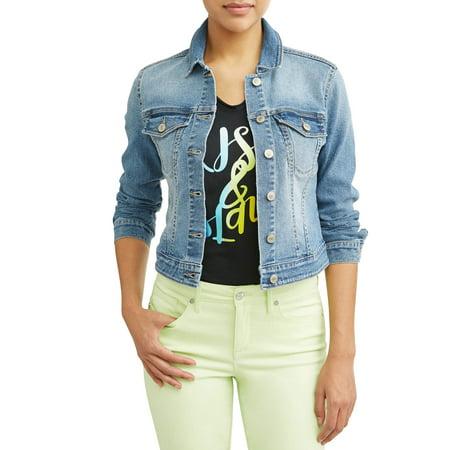 Marianella Soft Stretch Washed Denim Jacket Women